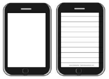 "Smartphone ""Selfie Stories"" Creative Writing Activity"