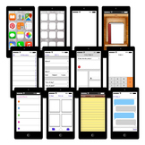 Smartphone Story Elements Graphic Organizers Printables and Clip Art