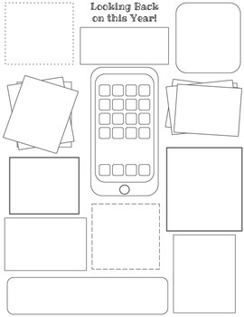 Smartphone / Tablet themed Memory Page