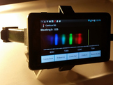 Smartphone spectroscope exercise