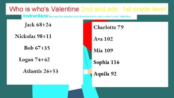 Smarts for Valentine Math