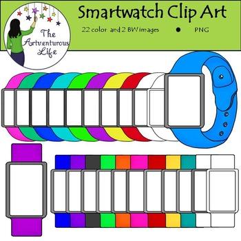 Smartwatch Clip Art