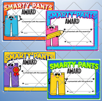 Smarty Pants Awards