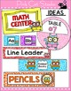Cat Theme Labels for Classroom Jobs, Teacher Binders, Supply Bins etc
