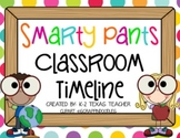 Smarty Pants Classroom Timeline: A Teaching Tool & Poster Set