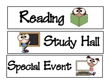 Smarty Pants Kiddos Subject Labels