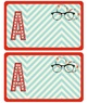 Smarty Pants Name Tag Label