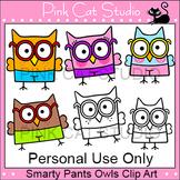 Owl Theme Classroom - Personal Use Clip Art - Back To School Decor