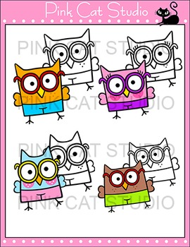 Owl Theme Classroom - Personal Use Clip Art - Back To School Decor