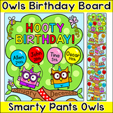 Owl Theme Birthday Board