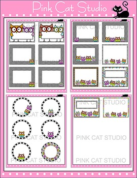 Owl Theme Labels and Templates