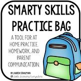 Smarty Skills Homework Bag