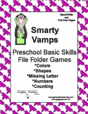 Smarty Vamps Basic Skill File Folder Games