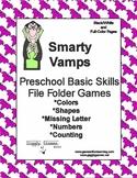 Smarty Vamps Basic Skill File Folder Games