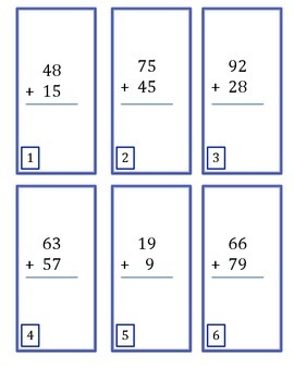 SmartyPants Board Game--2-Digit Addition with Renaming
