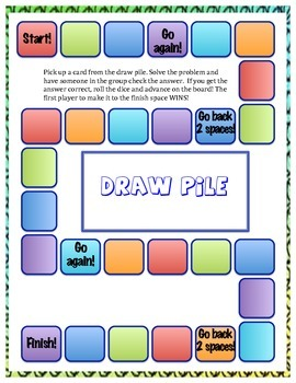 SmartyPants Board Game--2-Digit Subtraction with Renaming