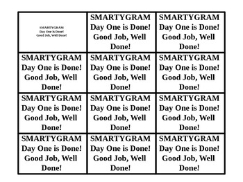 Smartygram