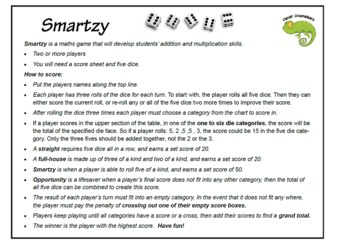 Smartzy Maths Game Multiplication Addition
