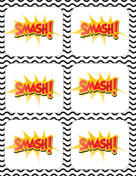 Smash! A Multiplication Game