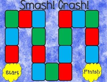 Smash! Crash! Comprehension Game