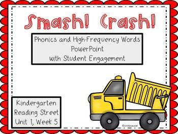 Smash, Crash, PowerPoint with Student Engagement, Kindergarten