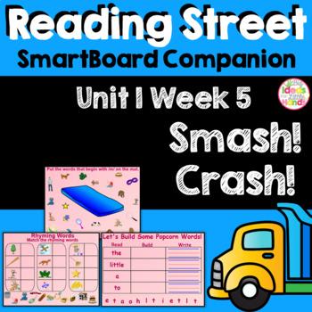 Smash! Crash! SmartBoard Companion Kindergarten