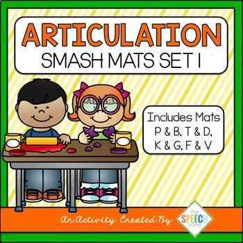 Articulation Smash & Dot-It Mats Bundle 1