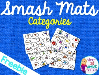 Smash Mats: Categories FEEDBACK FREEBIE