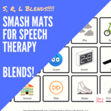 Smash Mats: R, L, S Blends For Speech Therapy
