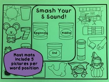 Smash a Sound: Articulation Smash Mats