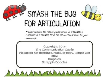 Smash the Bug for Articulation