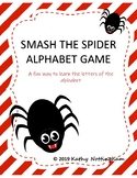 Smash the Spider Letter Game Learn the Alphabet