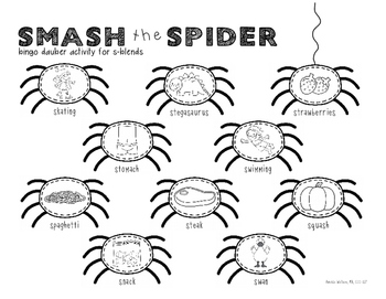 Smash the Spider s-blend FREEBIE