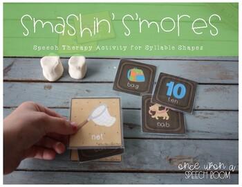 Smashin' S'mores for CV, VC, CVC and 2 Syllable Words