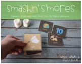 Summer Speech Therapy Activity: Smashin' S'mores for Syllable Shapes