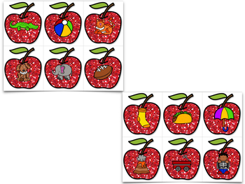 Smashing Apples! Beginning Sounds And Letter Recognition Creation!