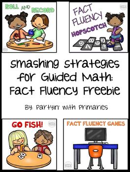 Smashing Strategies for Guided Math: Fact Fluency