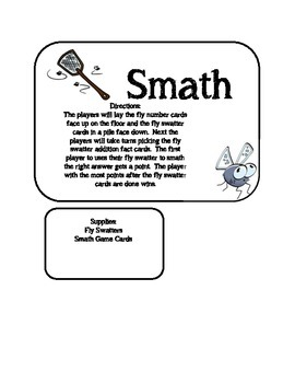 Smath: A Fun Addition Game for Younger Grades