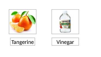 Smelling Bottle Nomenclature Cards