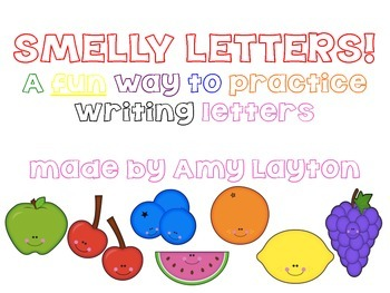 Letter Practice, Smelly Letters