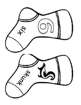 Letter S: Smelly Socks Write the Room