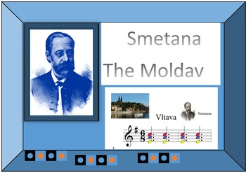 Smetana Má Vlast Boomwhackers score,mp3 sound and video included.
