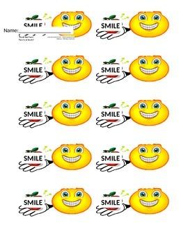Smile Reward Tickets