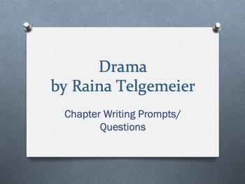 Drama, a graphic novel by Raina Telgemeier. Chapter Questi
