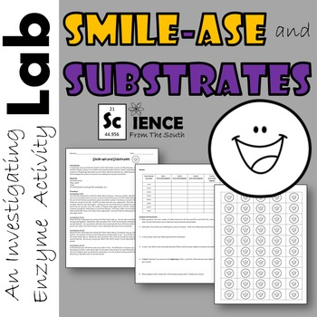 Smile-ase and Substrates An Enzyme Activity Lab Investigation FREEBIE