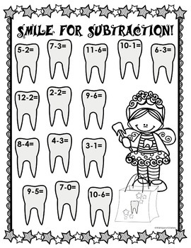 Smile for Subtraction