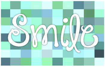 Smile in Teal