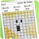 Editable Color by Code: Halloween