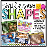 Smiles and Shapes: A Unit with Activities to Teach 2-D and