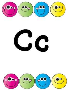 Smiley Alphabet